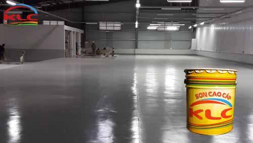 Việc thi công sơn epoxy KLC cho nền sàn nhà xưởng tại các khu công nghiệp